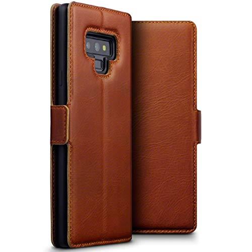 TERRAPIN Cover Samsung Note 9, Snello Vera Pelle Della Cassa del Raccoglitore con Funzione di Appoggio per Samsung Galaxy Note...