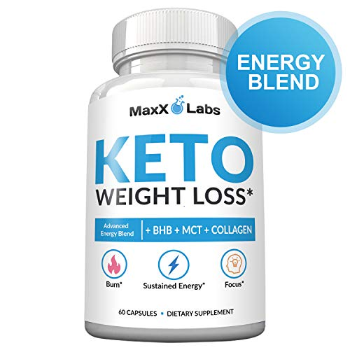 Keto Diet Pills - New - Exogenous Ketones Supplement Advanced Weight Loss for Women & Men with Best Ketogenic Fat Burner Beta Hydroxybutyrate BHB Salts to Keto Burn Fat - Easy to Swallow Capsules