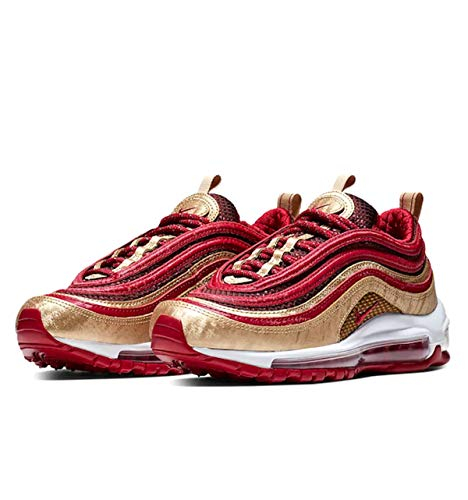 Nike Air Max 97 QS GS Noble Red - BQ4429-600 - US...