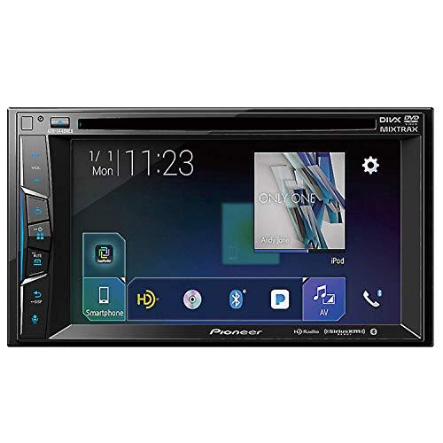 "Pioneer AVH-1440NEX 6.2"" Multimedia DVD Receiver Compatible with Apple CarPlay, Bluetooth, HD Radio, SiriusXM (Renewed)"