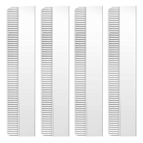 50pcs Barber Salon Vintage Steel Single Edge Razor Blades - Straight Industrial Shaving Razor Blades Disposable Straight Razor, Face Hair Eyebrow Trimmer Scraping Replaceable Blades Kit