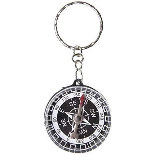 Schlüsselanhänger Kompass Kinder Geburtstag Mitgebsel Tombola Anhänger mit Ring