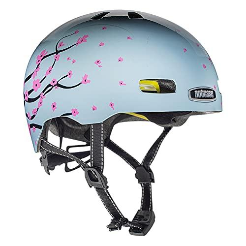 Nutcase Street-Octoblossom Helm, Mehrfarbig, S