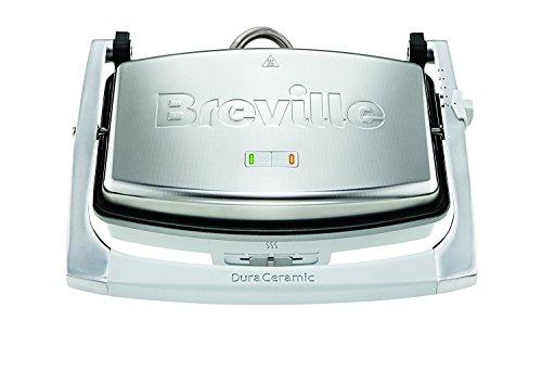 Breville VST071 Dura - Prensa para sándwich (3 rebanadas, cerámica), diseño original y todavía el mejor tostador de sándwich