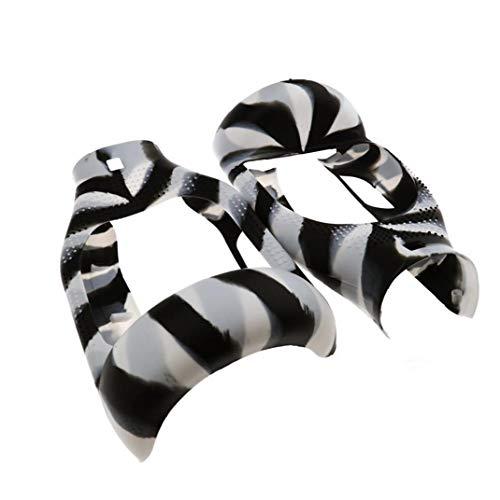Hiinice Silikon-schutzschild-Fall-Schutz Für 6,5-Zoll-selbstabgleich Scooter Gummihaut-Kasten-Schutz-schwarz, Weiß Und Grau Praktische Werkzeuge