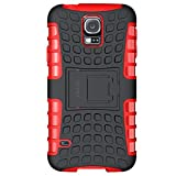 ykooe Galaxy s5 Coque,s5 Coque (Armor Séries) Silicone Anti Choc avec Béquille Housse Etui pour Samsung Galaxy S5 (Galaxy S5,...