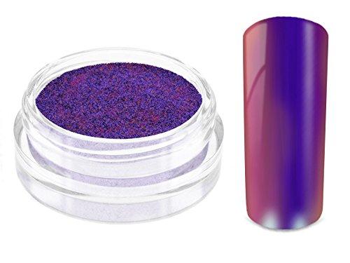 Nailart MIRROR CHROME FLIP FLOP Pigment Puder - DESERT SKY - Nageldesign Spiegel Effekt Powder - Nail Glitzer Glitter Pulver Mirror Metallic - Nail Dekoration Nagelkunst Naildesign