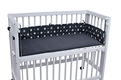TiSsi 100089 Nestchen Grau Sterne, mehrfarbig,1kg