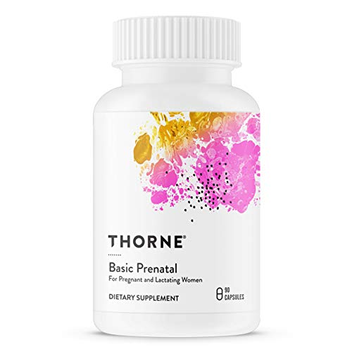 Thorne Research - Basic Prenatal - Folate Multivitamin for...