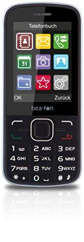 Bea-fon Classic Line C150 Handy (Dual-Sim, 1,3 Megapixel, microSDHC) schwarz