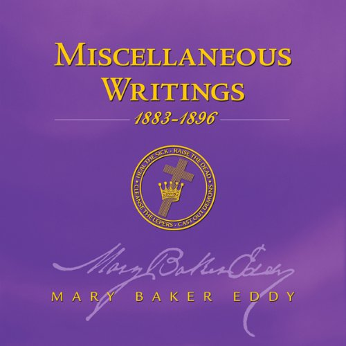 Miscellaneous Writings 1883-1896 audiobook cover art
