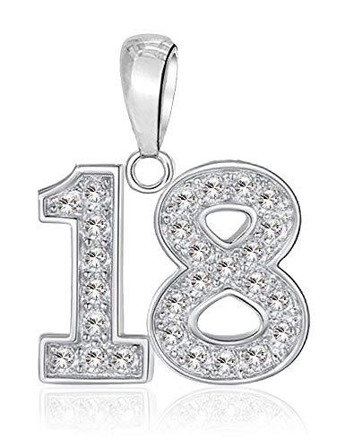 LSDesigns 18 Feliz cumpleaños Charm Abalorios Mujer
