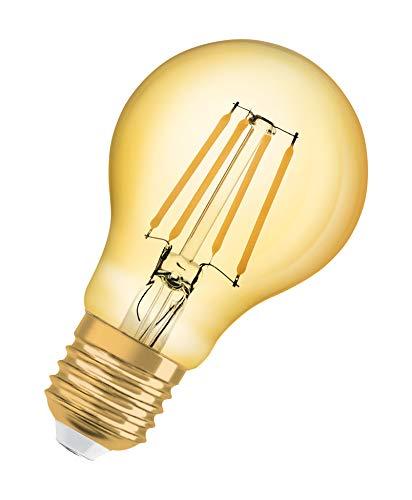 OSRAM LED Vintage Edition 1906, Sockel: E27, Nicht Dimmbar, Warmweiß, Filament Gold