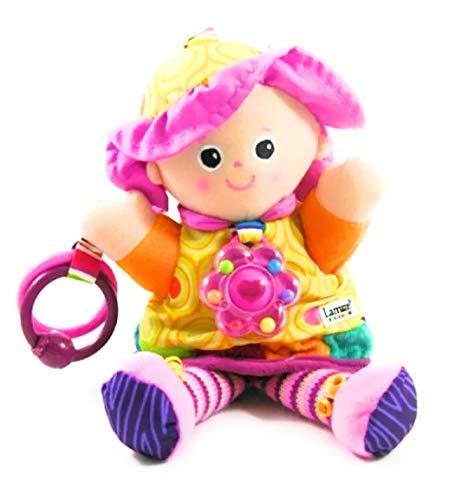 Lamaze baby speelgoed Mijn vriendin Emily Clip & Go - hoogwaardig speelgoed voor kleine kinderen - grijphanger ter versterking van de ouder-kind-relatie - vanaf 0 maanden