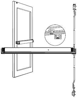 adams rite concealed vertical rod