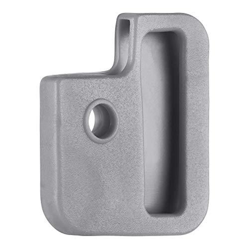 van den Heuvel - Graue Schlüsselkappe für eckige Schlüssel (24mm x 28mm) mit mehreren Aussparungen