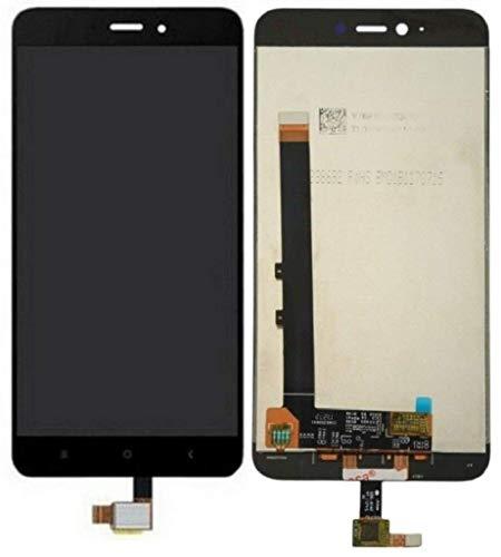 Pantalla Completa Tactil + LCD para Xiaomi Redmi Note 4 / Note 4X MTK Version (Procesador MediaTek Helio X20) Color Negro Blanco Cristal Digitalizador (Negro)