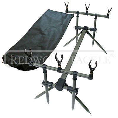 Generic Specimen Carp Fishing Goal Post Rod Pod With Bag & Rests <1&1842*1> by Generic
