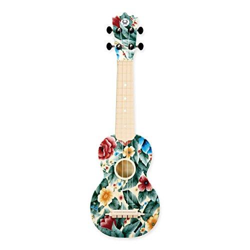 "Woodi Brand New 21"" Soprano Plastic Ukulele WU-21F10"