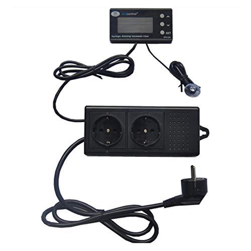 Calentador de acuario Digital Acuario Termostato Regulador De Temperatura Impermeable Al Agua Sensor Sensor Calentador De Refrigeración Tubo Tubo Termostato Para agua salada marina y agua dulce.