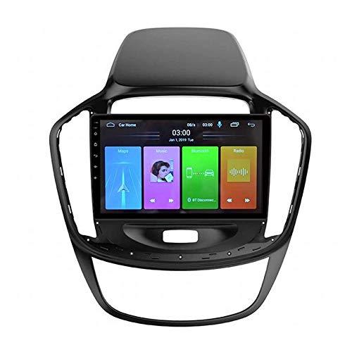 YLCCC Coche Estéreo Navigator Digital Resistivo GPS Navegación FM Am Radio Receptor Reproductor Multimedia con Enlace de Espejo Bluetooth para Baojun 560 2015-2016,8 Core 4g+WiFi: 4+64gb