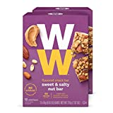 Discontinued: WW Sweet and Salty Nut Mini Bar - High Protein Snack Bar, 2 SmartPoints - 2 Boxes (24 Count Total) - Weight Watchers Reimagined