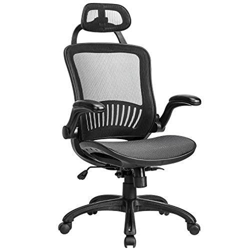 High Back Office Desk Chair Conference Chair Rolling Swivel Adjustable Computer Chair with Lumbar Support High Big and Tall Office Chair Ergonomic Desk Task Executive Chair (1)