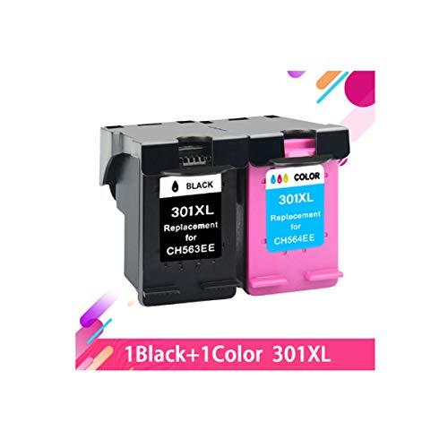 ZIJ Reemplazo for HP 301 Cartuchos de Tinta HP Deskjet 301 XL 1510 1050 1510 2050 2000 2510 2540 3054 3050A Impresora Hp301 (Color : 2)