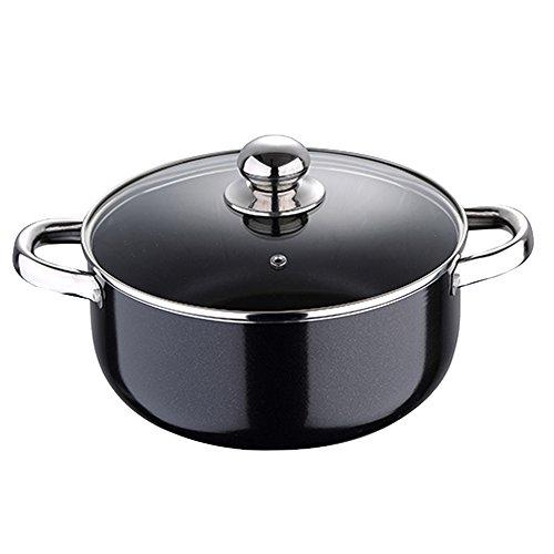Chef Sauce Pixel PRO casseruola, 2.4Litri, nero/20x 8cm