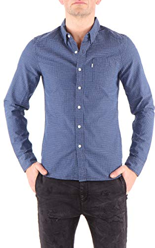 Levi's Herren Hemd Sunset Pocket Marineblau (S)