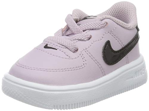 Nike Force 1 18 (TD), Zapatillas Unisex niños, Iced Lilac/Black/White, 27 EU