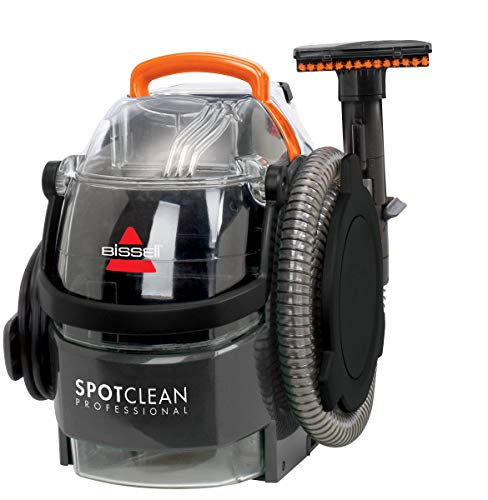 "Bissell 3624C SpotClean Professional Portable Carpet Cleaner - 5.7 Amp – 22' Cord - Large Capacity with 3-in-1 Stair Tool and 3"" Stain Tool and 8oz Trial Sized Professional Formula"