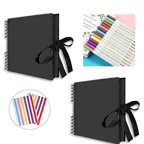 Spiralalbum FUN 10 Farben 23x17 cm und 30x30 cm