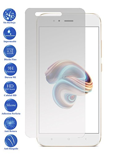 Todotumovil Protector de Pantalla Xiaomi MI A1 4G 5.5 de Cristal Templado Vidrio 9H para movil