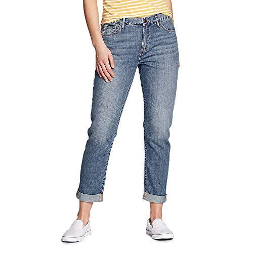 Eddie Bauer Women's Boyfriend Jeans - Slim Leg Authentic