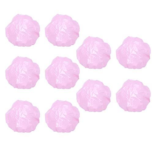 Lurrose 200 stuks transparant eenmalig gebruik gehoorbescherming waterdicht oordoppen blauw Small roze