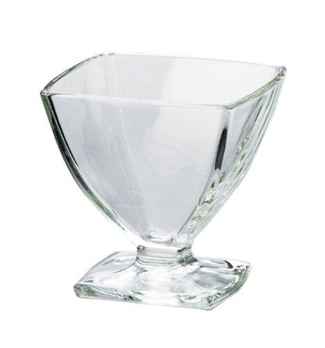 LA ROCHERE La Rochère Coupe à glace carrée Carat 19 cl Lot de 6