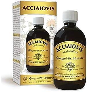 Dr. Giorgini Ser-Vis Acciaiovis Liquido Analcoolico, 500 ml