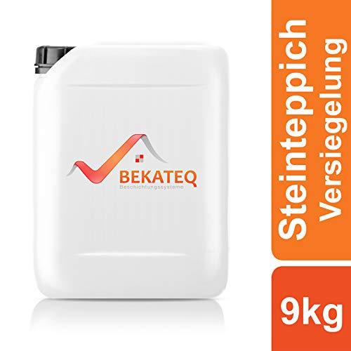 BEKATEQ Versiegelung Steinteppich BK-630EP 2K Epoxidharz - transparent - 9kg