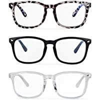 3-Pack Musboy Blue Light Glasses