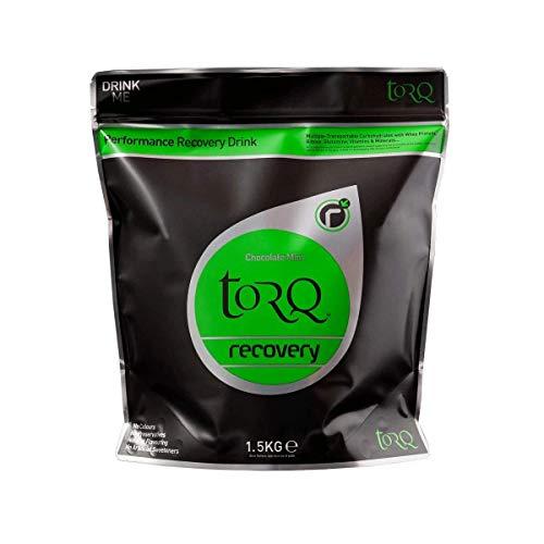 TORQ X2 Recovery Drink Chocolate Mint, Schwarz, 1,5 kg