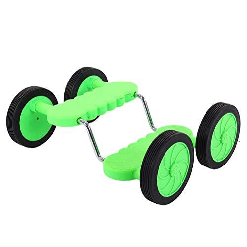 Equilibrio Scooter Para Niños, Paseo En Coche Juguete, Movimiento Y Deriva Con Pierna Derecha-Izquierda, Pedal Kart Para Niños Pequeños Y Niñas 7 Años Adelante, Juego Divertido Y Ejercicio,Verde
