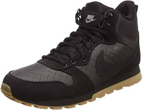 Nike MD Runner 2 Mid Prem, Stivali da Escursionismo Alti Uomo, Nero (Black/Black/Gum Light Brown 006), 42.5 EU