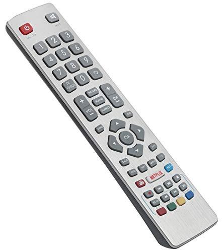 ALLIMITY Telecomando Sostituisci per Sharp Aquos 3D TV LC-32FI5442E LC-40FI5242E LC-40FI5442E LC-49FI5242E LC-49FI5542E LC-32HI5332E LC-32HI5532E LC-40UI7552K LC-50UI7252K