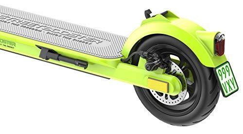 STREETBOOSTER One - E-Scooter mit Straßenzulassung und App aus dem Fachhandel (Grün) - 5