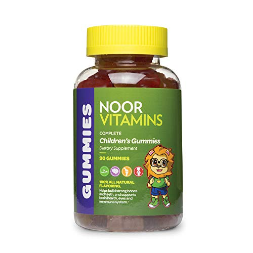 NoorVitamins Kids Formula Daily Gummy Multivitamin: Vitamin...
