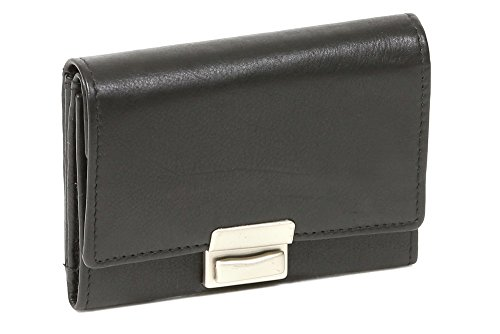 LEAS Opabörse Echt-Leder, schwarz Special Edition