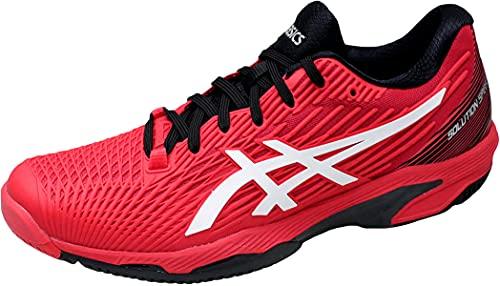 ASICS Solution Speed FF, Scarpe da Tennis Uomo, Electric Red/White, 44 EU