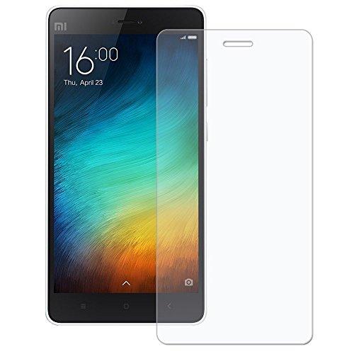 [2 Packs] Xiaomi Mi 4i Mirror Screen Protector, Xiaomi Mi 4c Tempered Glass Screen Protector, Anti-Scratch HD Clear Screen Protector Screen Guard for 5.0'' Xiaomi Mi 4i, Xiaomi Mi 4c
