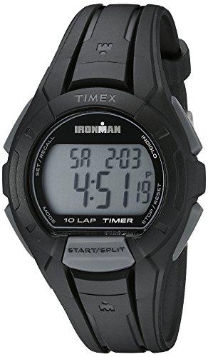 Timex Men's TW5K94000 Ironman Essential 10 Black Resin Strap Watch